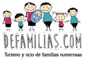 Bienvenidos a defamilias turismo y ocio for Alojamiento familias numerosas